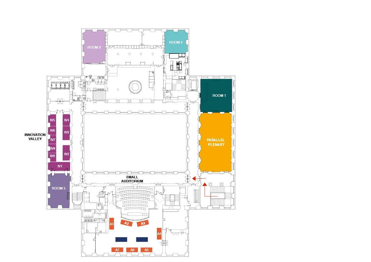 Av Access exhibition hall (level 2)